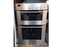 Siemens integrated double oven