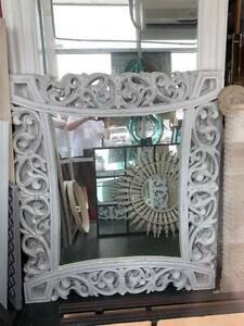 Carved Timber Mirror 50% OFF Original Price (Read Description)