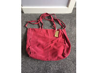 Italian Suede Bag for sale.