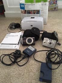 Canon SX200, Canon IXUS digital camera's