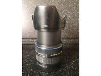 Olympus 14-42mm Four Thirds Lens