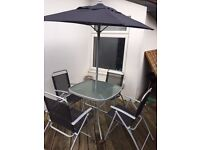 6-Piece used Garden Furniture Set
