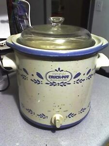 Vintage Rival Crockpot Slow Cooker - Made in the USA