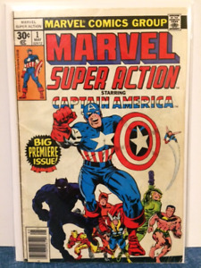 1ST EDITION MARVEL SUPER ACTION STARRING CAPTAIN AMERICA