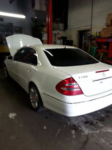 2003 Mercedes-Benz e500 Engine+Transmission
