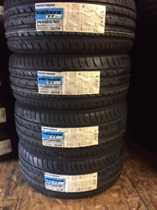 4 P245/45/19 Toyo Proxes T1 Sport tires installed - SALE