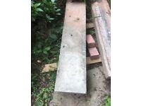 stone door step