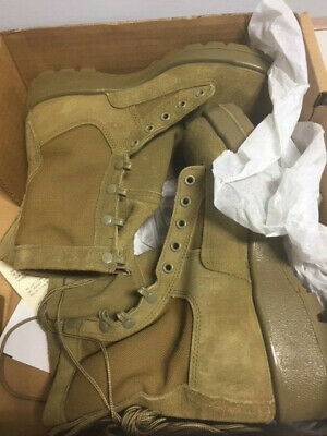 Army Combat Boots Temperate Weather (ACB-TW) Coyote Brown OCP Uniform, Size 6W (Army Combat Uniform Boots)