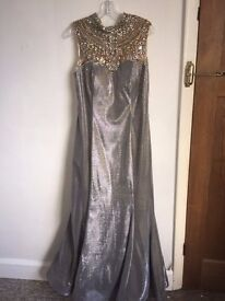 """Long Evening Dress size 16 suit height 5ft 3"""" - 5ft 6"""". Renee Couture - London"""