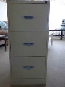 Metal 3 drawer Filing Cabinet - Excellent Condition Northgate Brisbane North East Preview