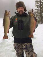 Elliot lake guided ice fishing tours