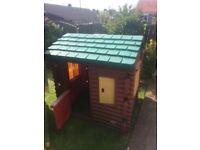 Kids log cabin