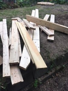 Various Lumber available