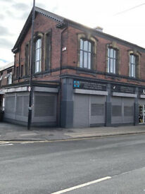 Double fronted shop to let S9 area Sheffield, Main Road positioning!