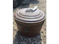 Vintage Hat Box (metal)