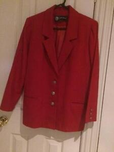 Red 100% wool jacket fully lined Mudgee Mudgee Area Preview