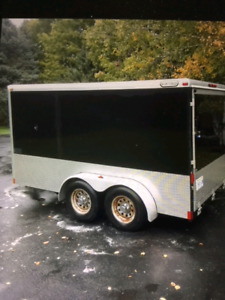 Cargo trailer for a steal.