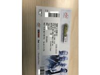 2 TABLE tickets World Darts Championship Thursday 21st Dec