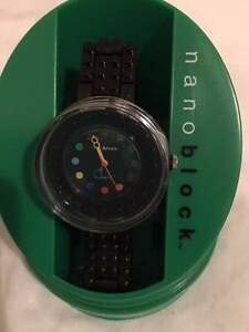 Nanoblock decoration watch Deco's play wrist watch black LEGO Hamilton Newcastle Area Preview