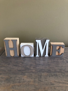 Wooden Block Letters Kijiji In Ontario Buy Sell Save With