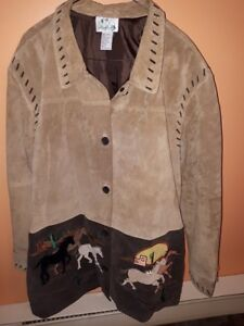 * NEW PRICE * Soft 100% Leather Jacket Size XL