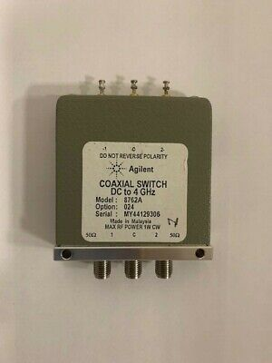 Lot Of 8 Agilent 8762a Coaxial Switch Dc To 4 Ghz