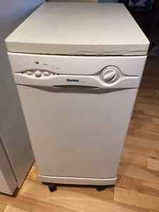 Danby Designer Portable Apartment Size Dishwasher.