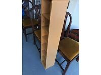 Great condition Ikea CD storage shelves