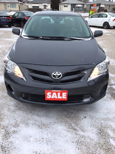 2011 Toyota Corolla CE Sedan Brand New Safety