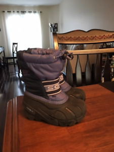 Sorel Toddler Winter Boots- Size 8- Colour- Blue