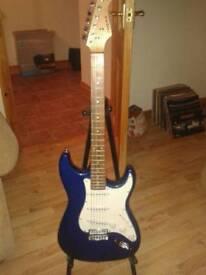 Aria stratocaster electric guitar