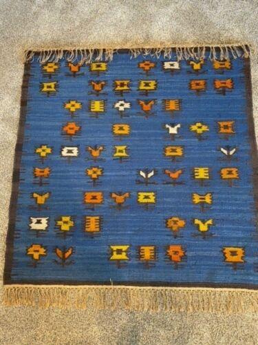 Vintage Polish Szczepanewska Kilim Rug/Tapestry