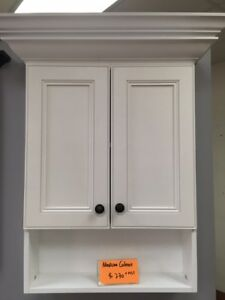 step shaker white medicine cabinet on sales!