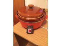 Vintage Prestige Crock-Pot Slow Electric Cooker L8100 1.8 Litre