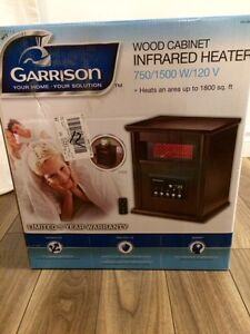 Garrison Wood Cabinet Infrared Heater