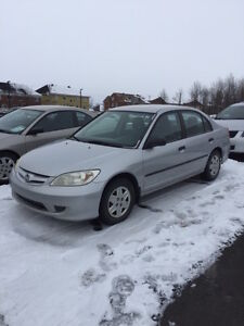 2005 Honda Civic special edition GROS DEAL