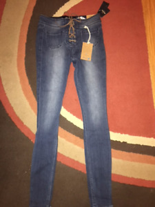 Women's Hollister Jean Leggings Size 1-R - NWT