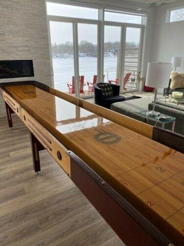 Champion Grand Champion Shuffleboard Table Special Edition - 14 Feet