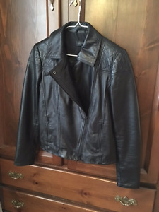 Black Leather Danier Jacket