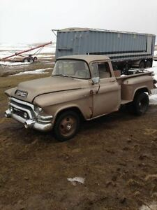 NEED BODY PARTS FOR 55 TO 57 CHEV / GMC PICKUP