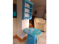 Table & Shelf Unit