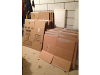 Large, medium and small removal boxes free to collect