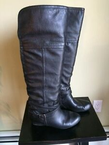Ladies Black high boots - Aldo