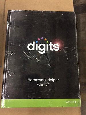 DIGITS HOMEWORK HELPER VOLUME 1 & VOLUME 2 PACKAGE GRADE 6