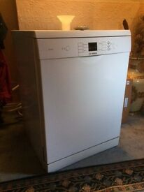 Bosch SMS50E02UK Freestanding 13 Place Dishwasher, good condition, selling due to new kitchen