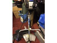 Mac allaster petrol Strimmer with back support 2 stroke mixer bottle
