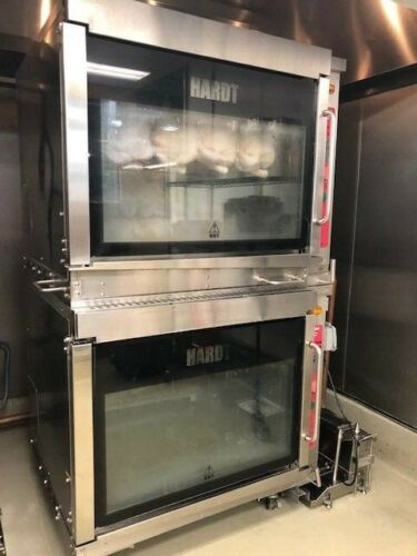 Hardt Inferno GC 4000 Chicken Rotisserie Double Stack Oven (Natural Gas)