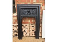Immaculate Decorative Cast Iron Fireplace Surround
