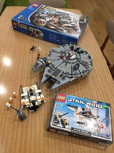 LEGO Star Wars Millennium Falcon 4504 and Snowspeeder 4500 Brookwater Ipswich City Preview