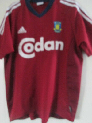 Brondby 2003-2004 Away Football Shirt Size Adult Small /39177